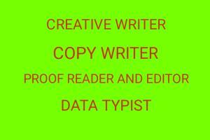 Portfolio for Creative Content Writer